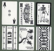 "Vintage Cards game ""Roots"" designed by Louis Petrossi 1977"